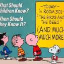 Sex ed - Charlie Brown