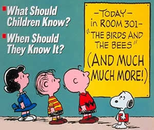 Sex ed - Charlie Brown