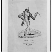 """""""Zip Coon,"""" 1834. Source: Library of Congress, Prints and Photographs Division"""