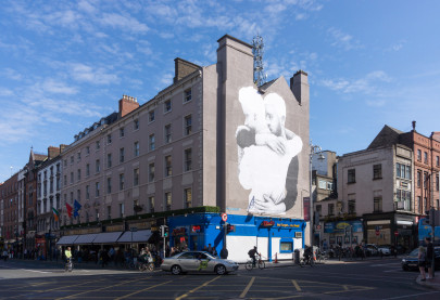 Large mural painted by Joe Caslin in support of the Ireland same-sex marriage referendum. (William Murphy/Flickr | CC BY-SA)