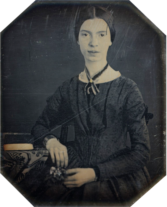 Daguerreotype of Emily Dickinson, c. 1847. (Amherst College Archives & Special Collections)