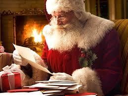 Santa claus gets present - 2 10
